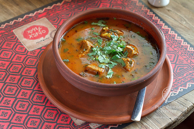 Ресторан «Хочу харчо», Санкт-Петербург: Суп-харчо с телятиной