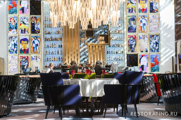 ресторан «Блок», Санкт-Петербург