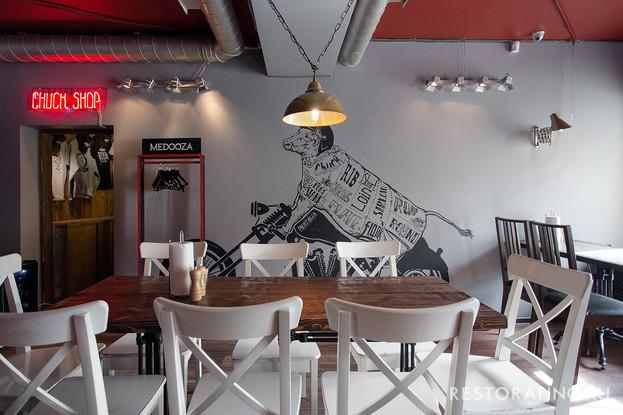 ресторан «Chuck», Санкт-Петербург