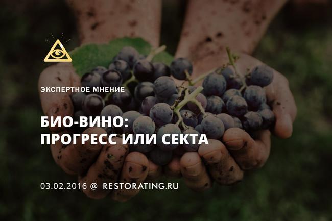 Био-вино: прогресс или секта