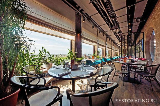 ресторан «Паруса на крыше», Санкт-Петербург