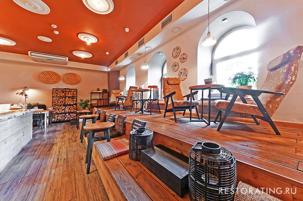 ресторан «Лев и птичка», Санкт-Петербург