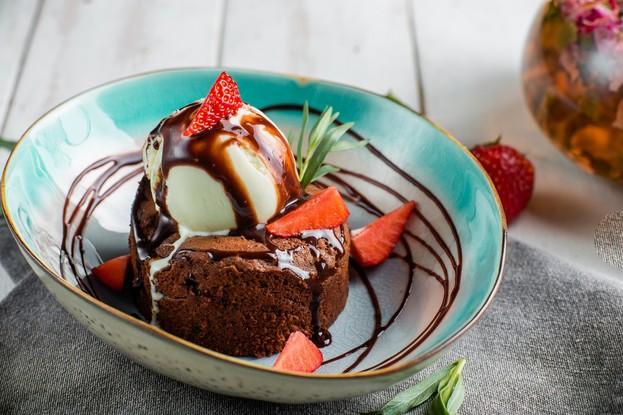 Ресторан «Корюшка», Санкт-Петербург: Шоколадная шкатулка