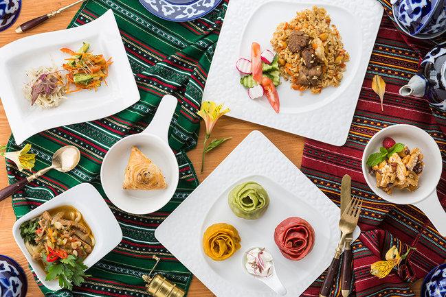 Mindal Cafe: Узбекский сет