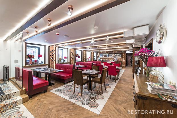 ресторан «Pushkarski», Санкт-Петербург