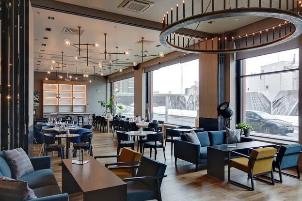Банкетный зал ресторана Grill Station. ресторан «Grill Station», Санкт-Петербург