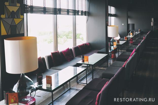ресторан «Sky Bar», Санкт-Петербург: Sky Bar в отеле «Азимут»