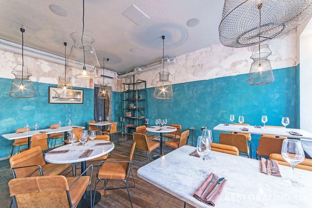 ресторан «La Perla Seafood Bar», Санкт-Петербург