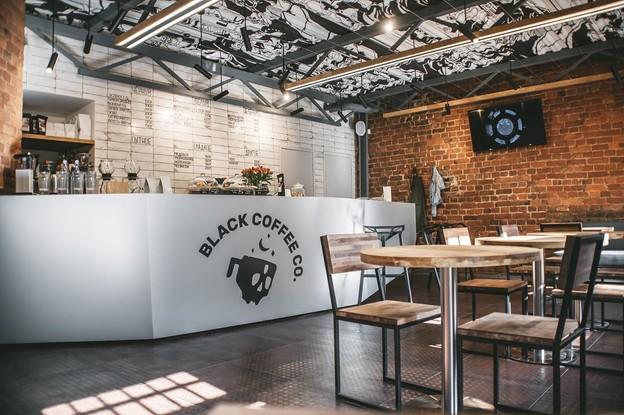 кафе «Black Coffee Co», Санкт-Петербург