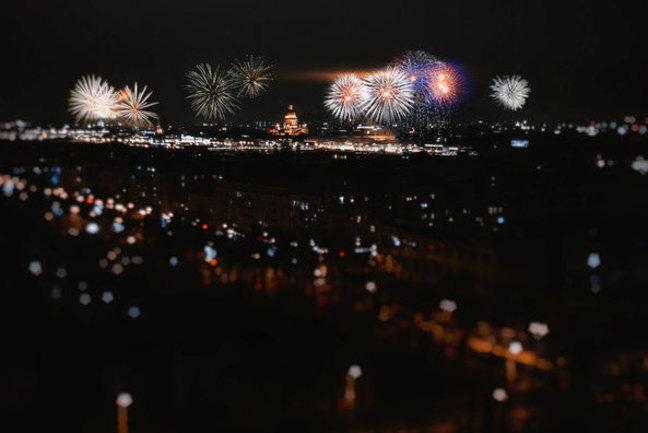 Я люблю... La Panorama: Новый год на высоте птичьего полета