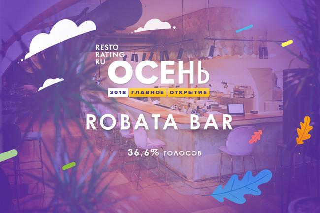 Главное открытие осени — Robata bar