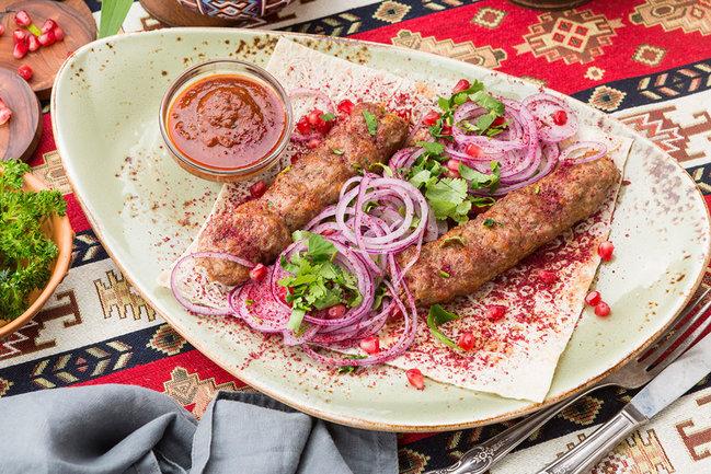 Mindal Cafe: Люля-кебаб