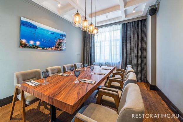 ресторан «Рыба моей мечты», Санкт-Петербург