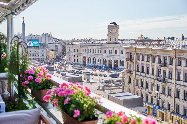 Москва: Летняя терраса