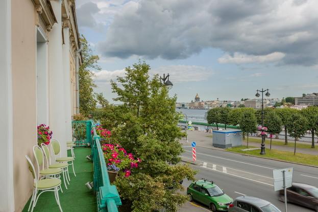ресторан «Особняк А.П. Брюллова», Санкт-Петербург: Балкон