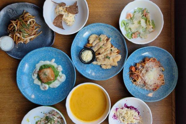 Юнга Seafood & Bar: Обеденное меню