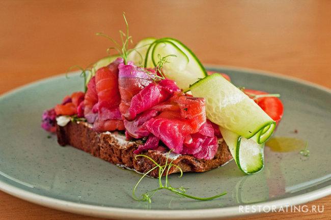 Nordic: Ресторан на диване