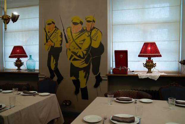 ресторан «Петров-Водкин», Санкт-Петербург