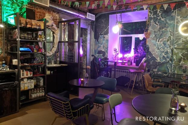 кафе «Vmesto», Санкт-Петербург